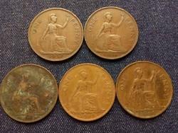 Anglia - VI. György One Penny évszám gyűjtemény/id 7862/