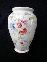 Zsolnay ritka barackvirágos amfóra váza