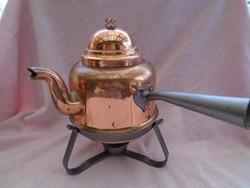Régi de használható állapotban lévő tea vagy kávé föző edény cca 1-1,3 literes