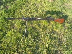 1944-es orosz dp28 golyószóró, puska hatástalanítva