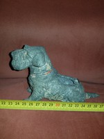 Törpesnauzer spiáter kutyus, fedele elveszett pár évtizede...