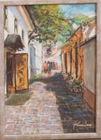 Mediterrán utcakép 2. (Karászi Judit)