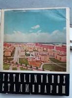 Retro útikönyv Sztálinváros (mai Dunaújváros) városáról
