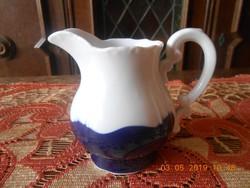 Zsolnay Pompadour tejkiöntő / tejszín kiöntő, teás készlethez