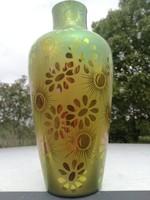 Eozin nagy zsolnay váza porcelán