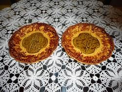 Villeroy & Boch majolika tányér párban