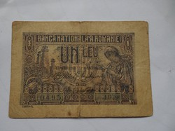 Román 1 leu 1915