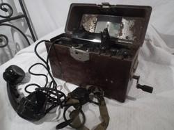 Szovjet harctéri hordozható telefon - 1960-as - TAI - 43 - as