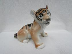Lomonosov porcelan tigris kolyok