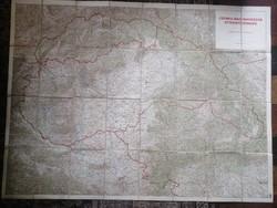 Kartográfiai különlegesség: Magyarország térkép 1940-ből