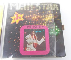 Retro nosztalgia hanglemez bakelit lemez Elvis Presley - Mein Star-Elvis Presley - 3LPs