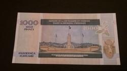 Burundi 1000 Francs UNC 2009