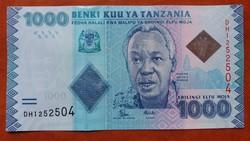 Tanzánia 1000 Schillings UNC 2015