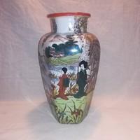Victoria porcelán , Keleti mintás nagyobb váza