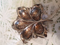 Diannás ezüst kináló tálka
