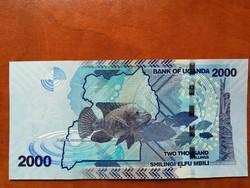 Uganda 2000 shilling 2017 UNC