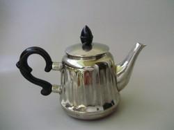 Retro,vintage,barázdált fém kávéskanna