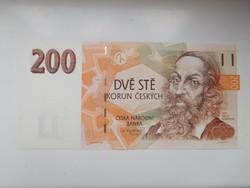 Csehország 200 korun 1998 UNC Ritka!