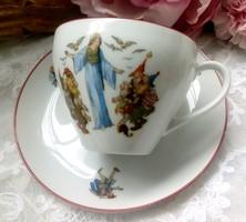 Hófehérkés csésze
