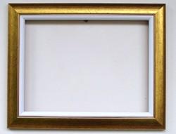 30x40 cm keret arany + fehér betét vászonhoz is alkalmas