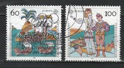 Pecsételt Német 0018 Mi 1608-1609       1,00 Euró