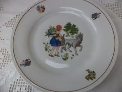 Gyermek mese tányér