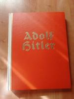 Gyönyörű állapotú Adolf Hitler Képes Album, ún Zigarettenbilder Album tele, minden kép benne