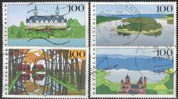 Pecsételt Német 0021 Mi 1849-1852       4,00 Euró