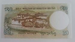 Bhután 20 Ngultrum UNC 2013