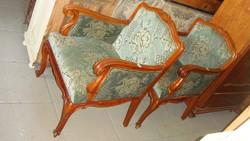 Bécsibarokk két fotel két szék.