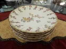 Sarreguemines francia fajansz sütis tányérok