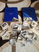 1932-es Olimpia Album, 1936-os Olimpia 2. kötet és több mint 200 1940-es fotó csomagban