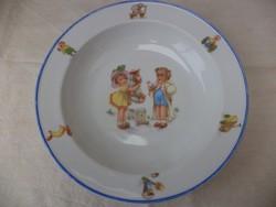Gyermek tányér mese tányér