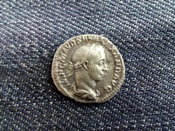 Severus Alexander Dénár 225 PM TRP IIII COS PP, ritka hátlap/id 8590/