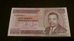 Burundi 100 Francs UNC 2010