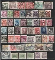 Csehszlovákia 0001    50 db. különféle