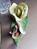 Aquincumi porcelán rózsa
