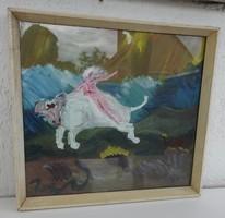Vilhelm Károly : Európa elrablása - képcsarnokos festmény