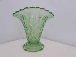 Szepseges Art deco uveg vaza