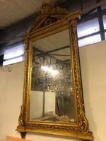 Nagy méretű aranyozott tükör