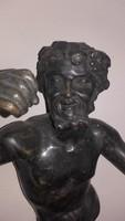 19sz.-i Francia bronz gyertyatartó egy része