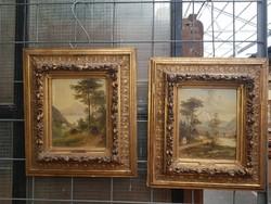 Raimund Volanek festmények párban