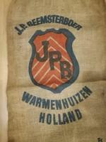 Régi Holland zsák,loft,vintage,dekor