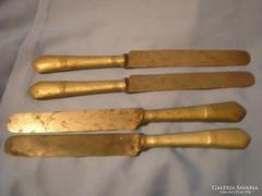II.Világháborús kések sas jelzéses alpakka ritkaság tiszti kések