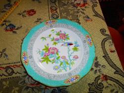 Angol antik kézzel festett  porcelán tányér