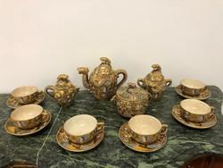 Antik Kínai teás készlet