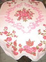 Csodaszép vintage rózsás nyomott mintás törölköző