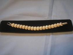 Markazit kövekkel karlánc 19 cm ajándékozható állapotban