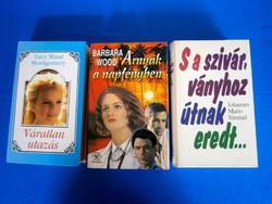 3 db regény könyv egyben