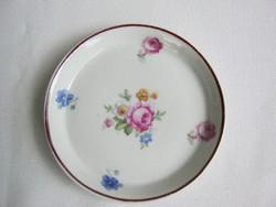 Régi Hollóházi porcelán gyűrűtartó tálka